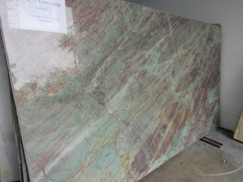Polished Verde Esmeralda Green Quartzite Slabs
