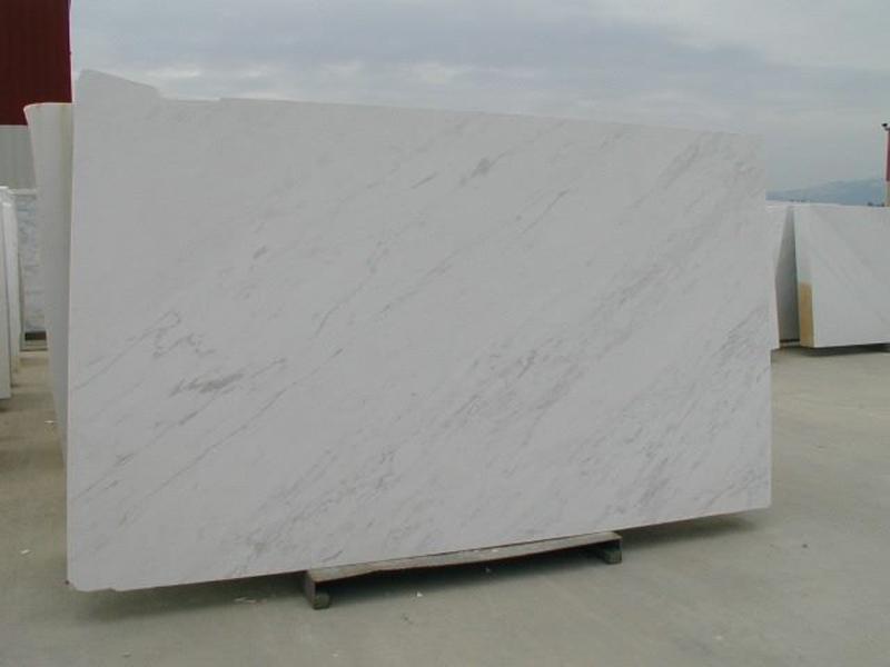 Polished Volakas Brilliant White Marble Slabs
