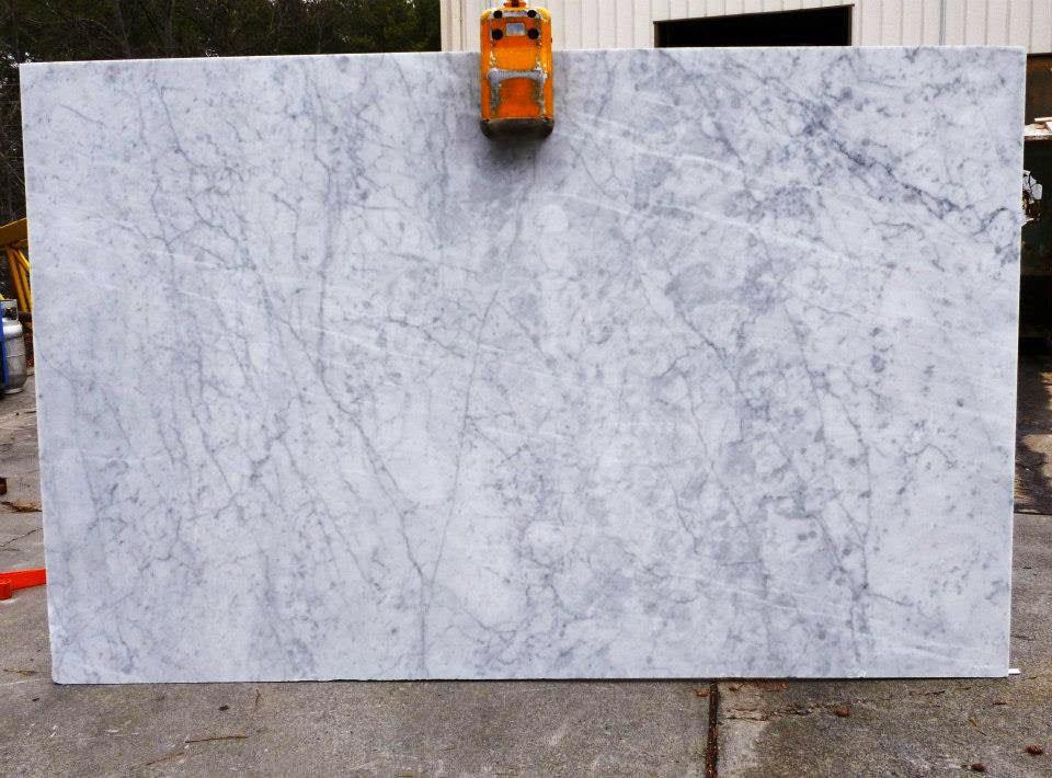 Polished White Carrara Marble Slabs