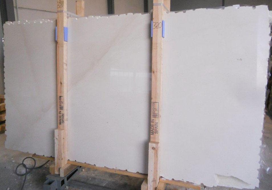 Polished White Limestone Caliza Capri Limestone Slabs