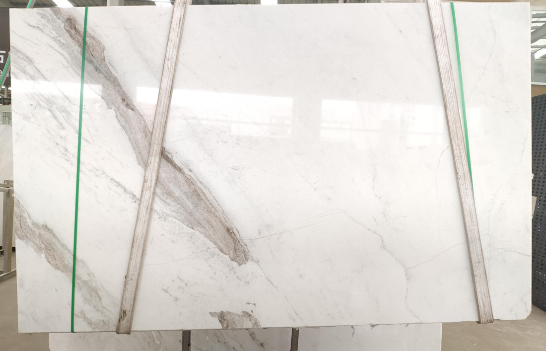 Polished White Marble North Pearl Marble Slabs