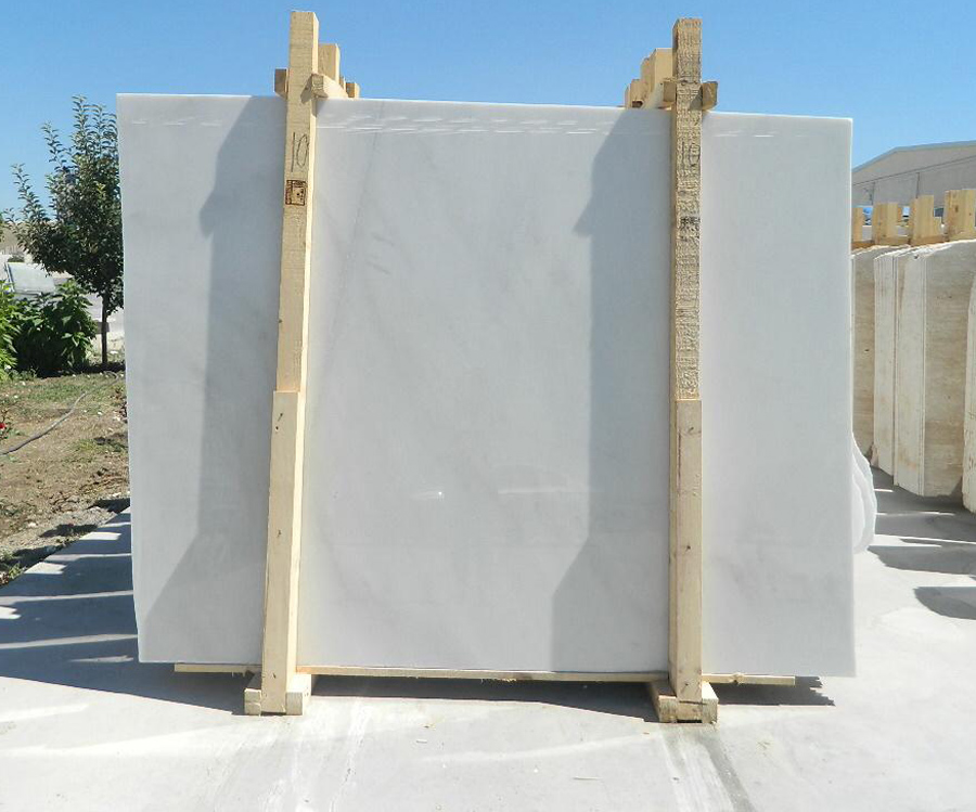 Polished White Marble Slabs Turkish White Marble Slabs