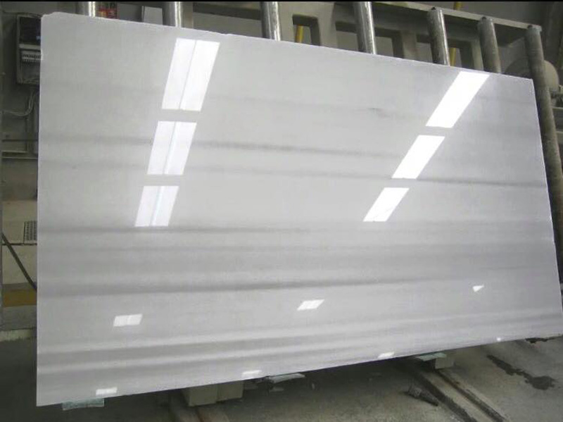Polished White Slab Blanco Macael Polished White Marble Slabs