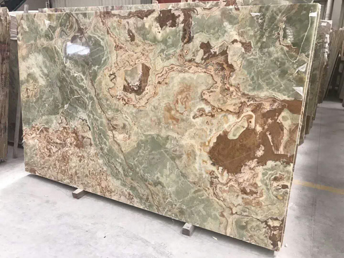 Polishing Onyx Slabs Ancient Jade Onyx