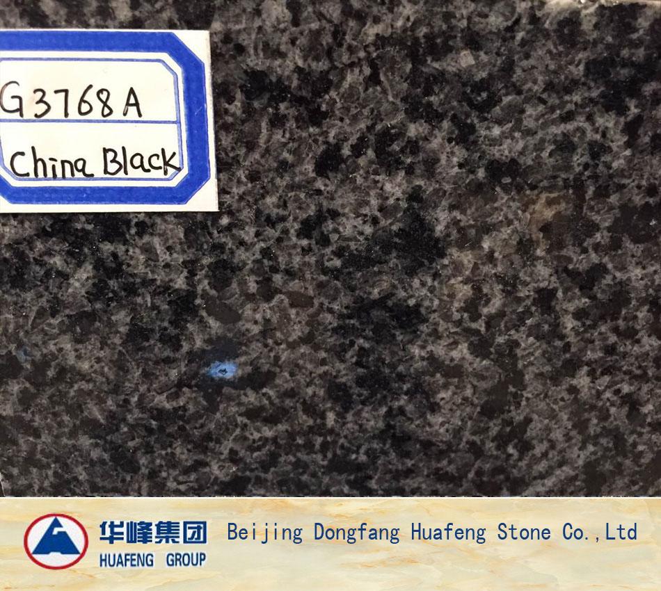 Popular Black Polished Granite Wall Tiles