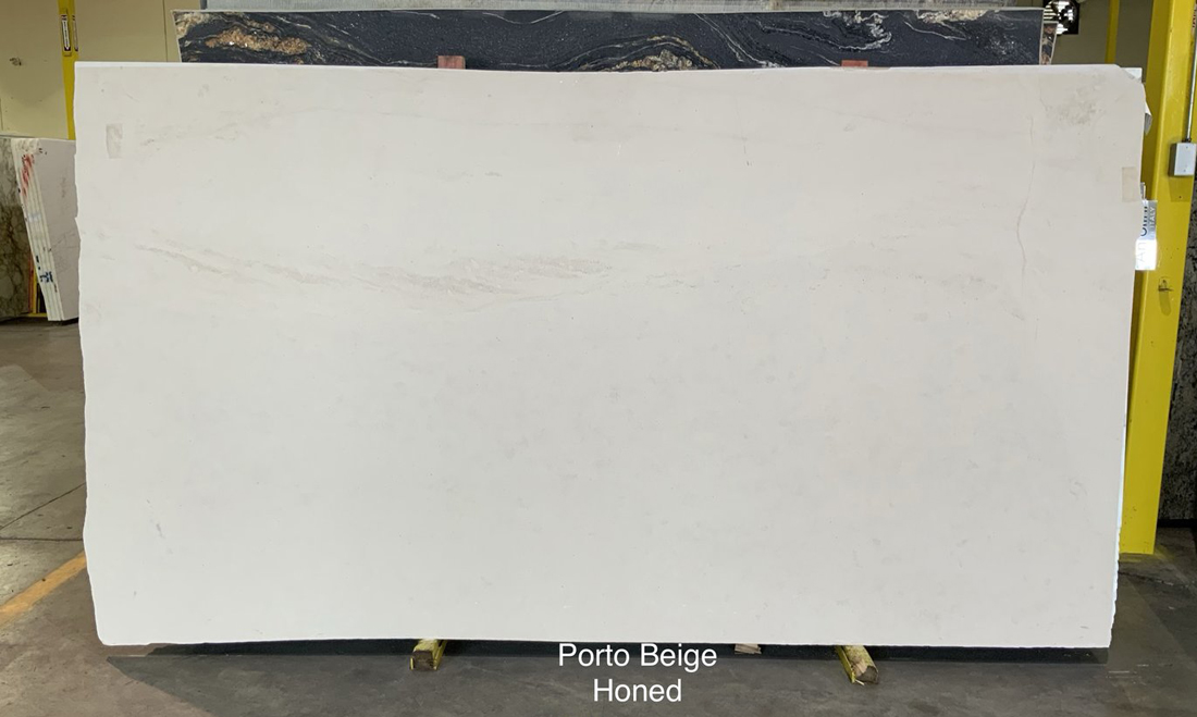 Porto Beige Limestone Slabs Portugal Honed Limestone Slabs