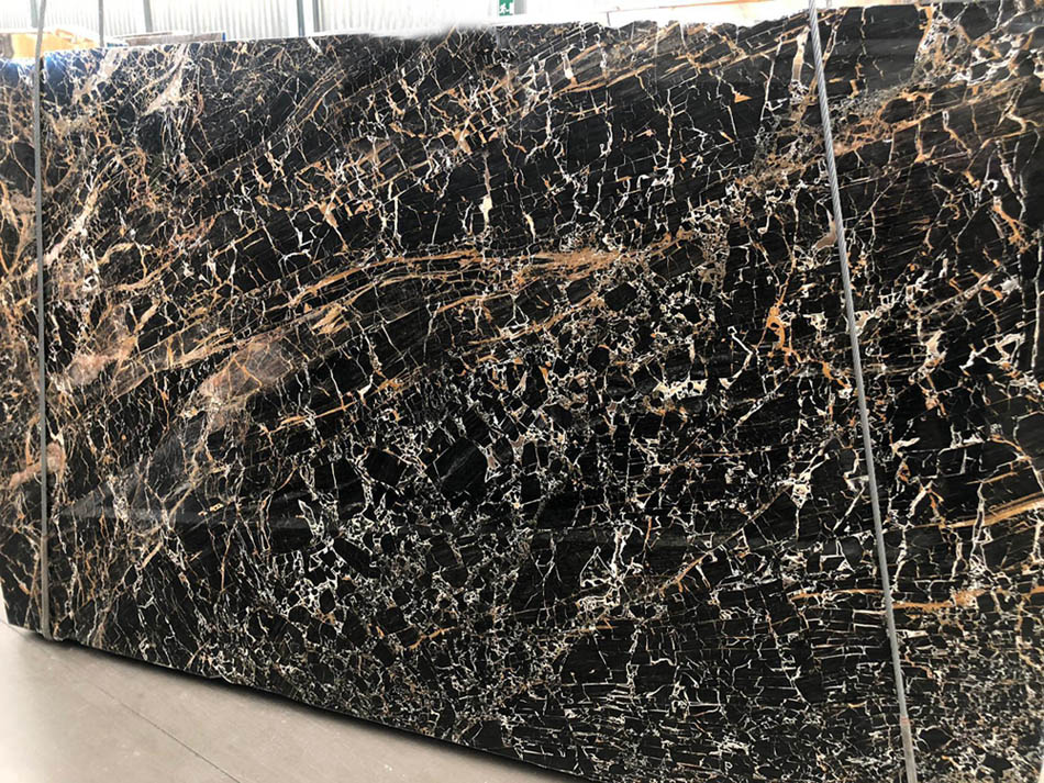 Portoro Gold Slabs Italian Polished Marble Slabs