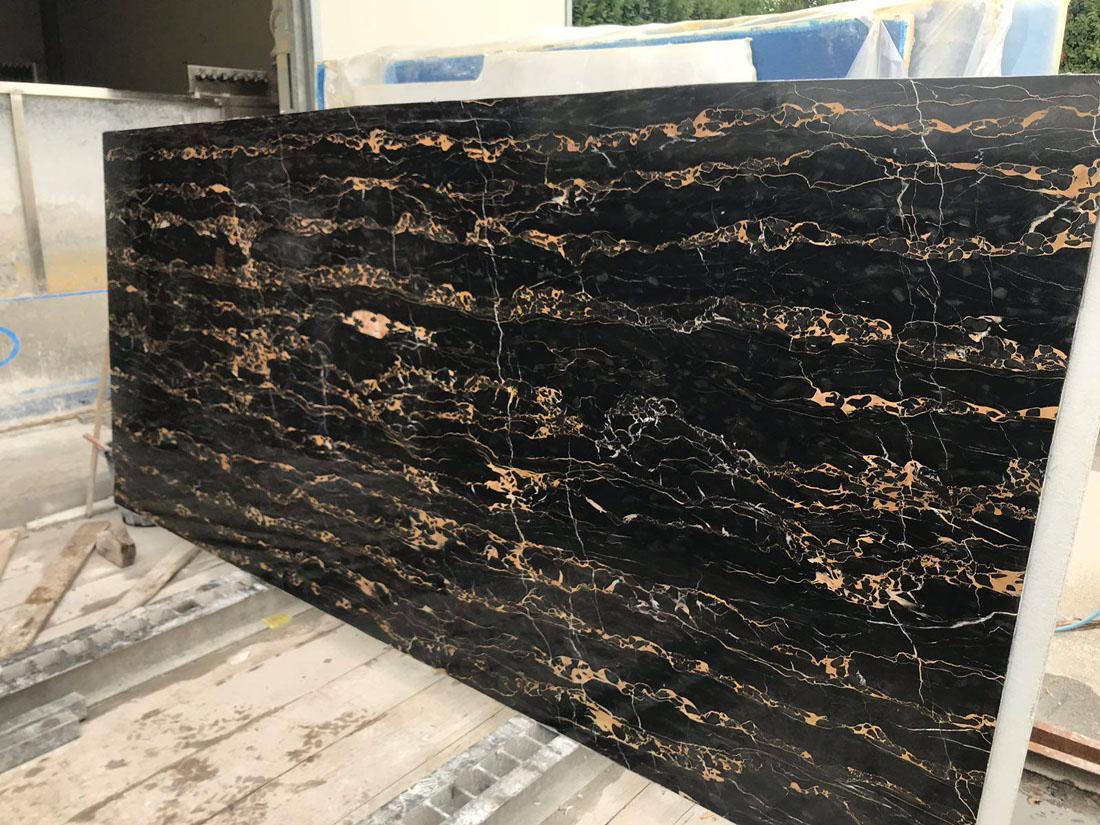 Portoro Marble Polished Big Slabs