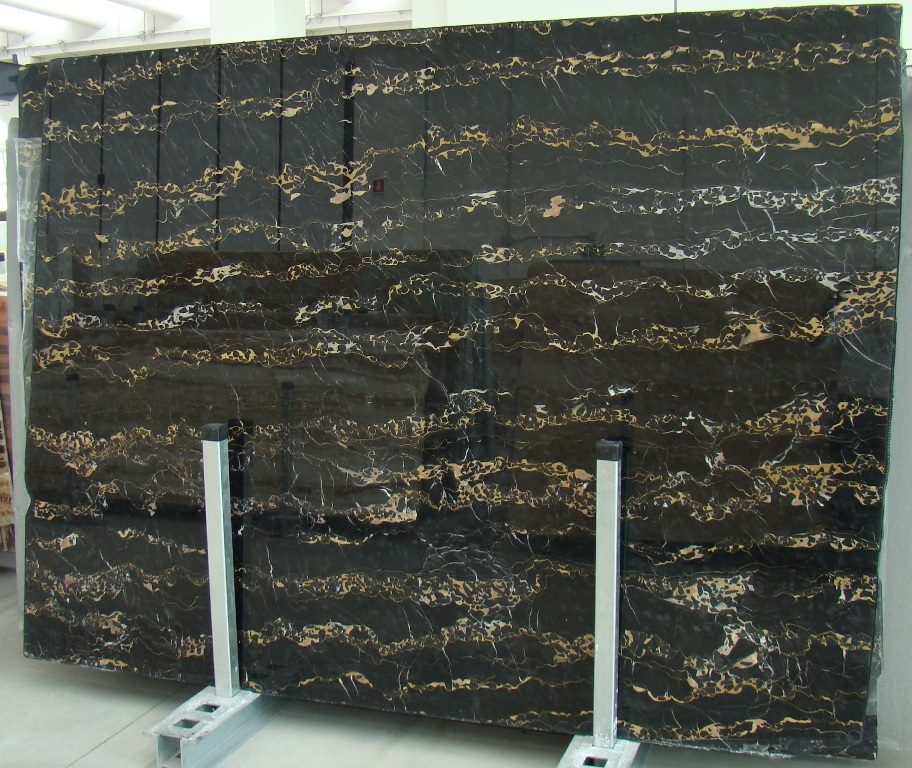Portoro Slabs Polished Marble Slabs Italian Black Marble Slabs