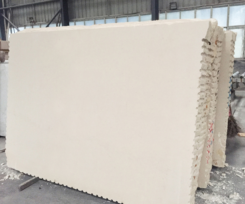 Portugal Gascogne Beige Limestone Slabs with Top Quality