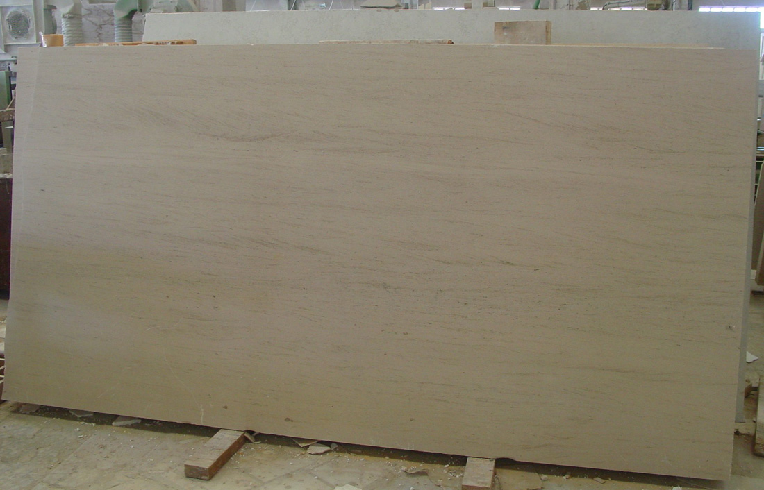 Portugal Moca Cream Honed Limestone Slab