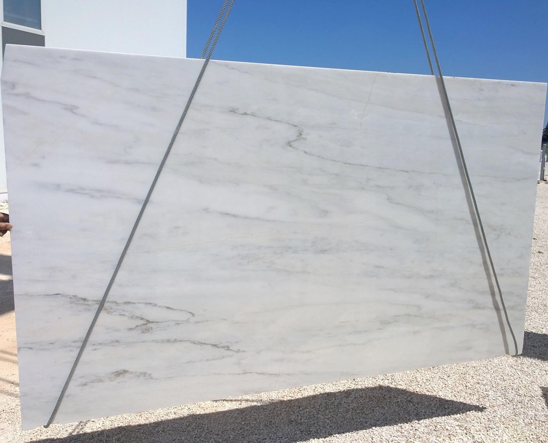 Portugal White Jungle Marble Slabs