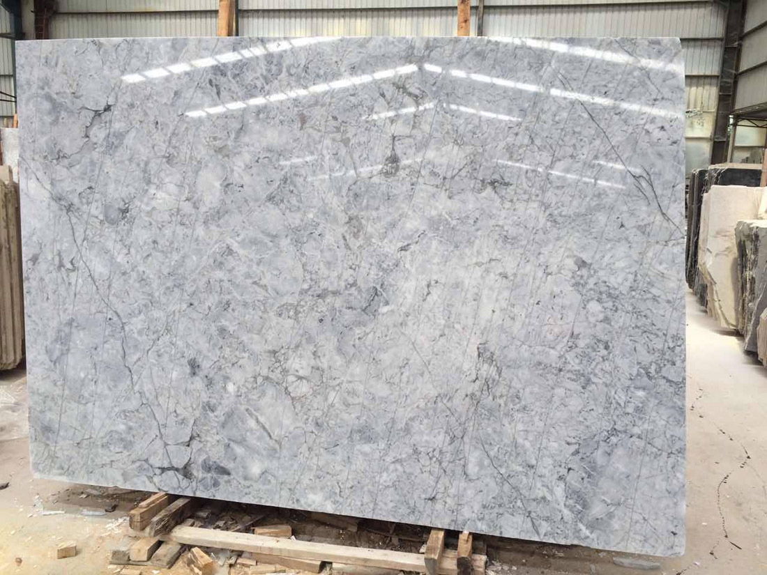 Prague Grey Marble Slabs Polished Marble Slabs from China