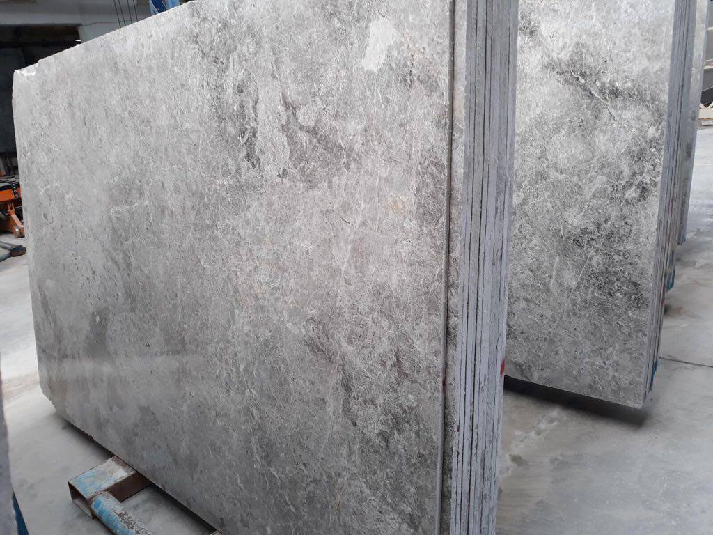 Premium Tundra Grey Marble Slabs for Export