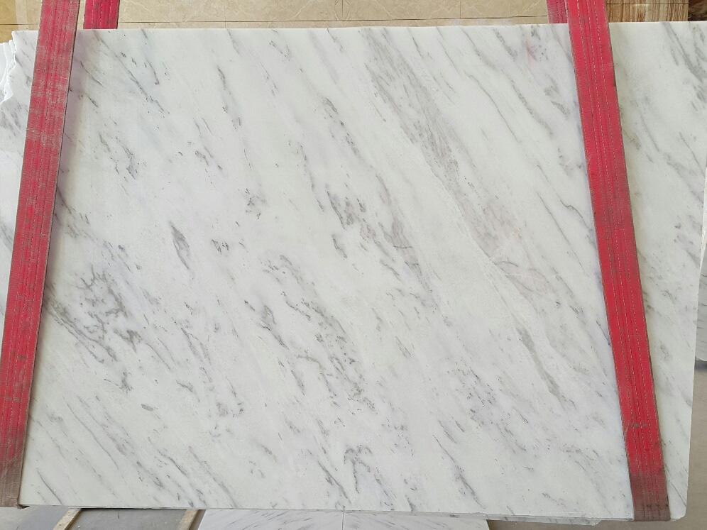 Premium Volakas White Marble Slabs Polished White Stone Slabs
