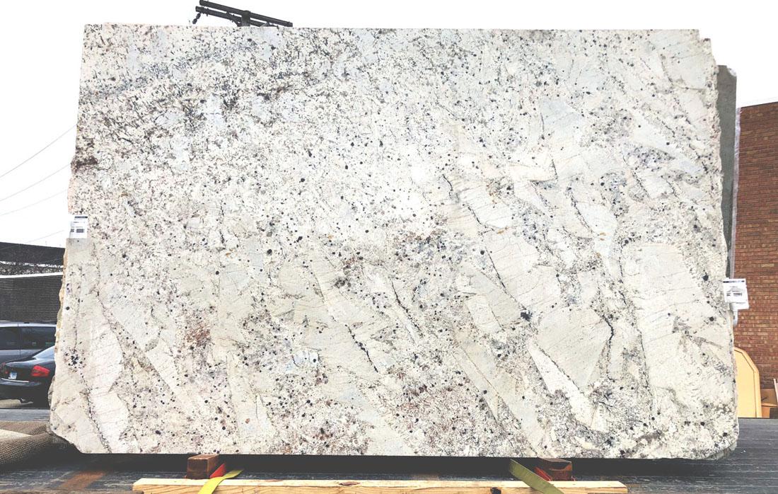Premium White Salaxy Slab Indian Granite Stone Slabs