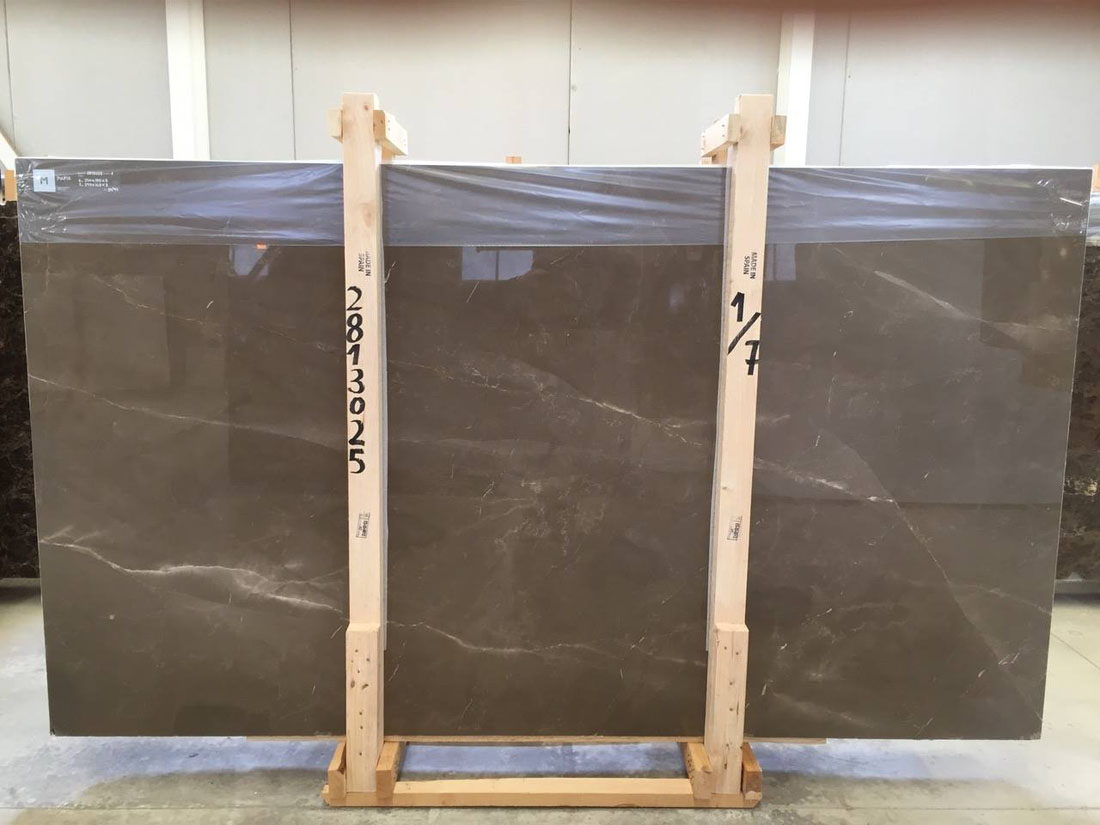 Pulpis Brown Polished Marble Slabs