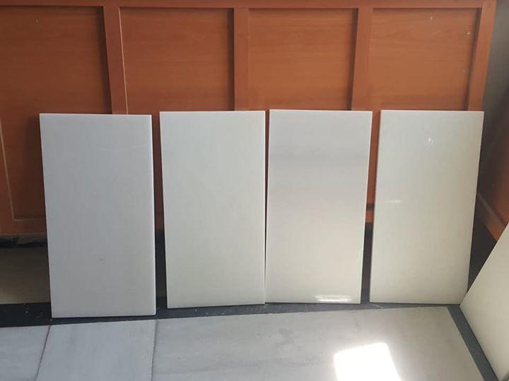 Pure White Marble Tiles Flooring Stone Tiles