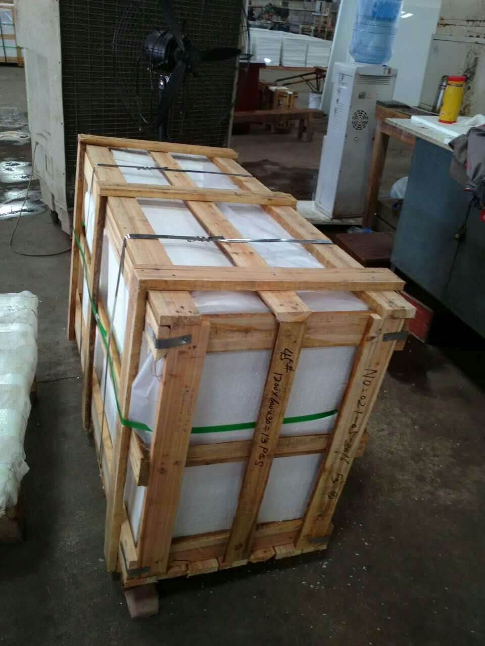 Pure White Stone Slabs Nano Glass Stone from China