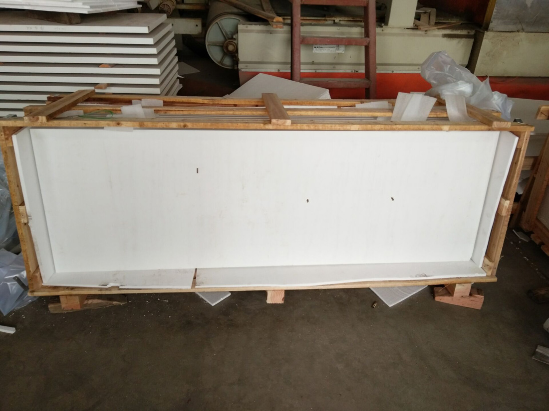 Pure White Stone Slabs Nano Glass Stone