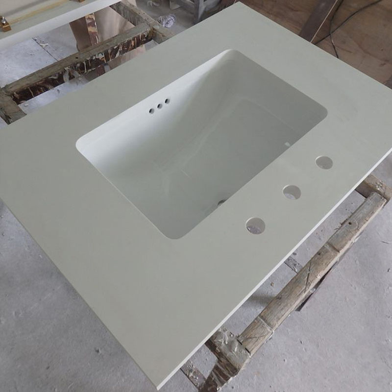 Quartz Bathroom Vanity Tops White Tops
