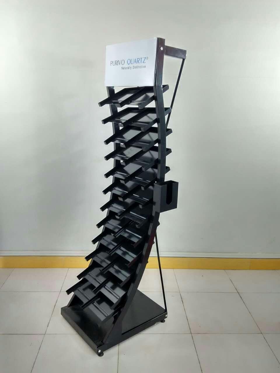 Quartz Samples Display Racks