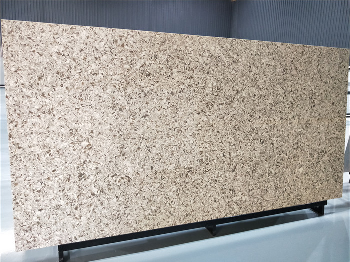 Quartz Slab Beige Artificial Stone