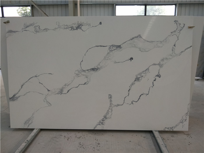 Quartz Slab White Artificial Stone