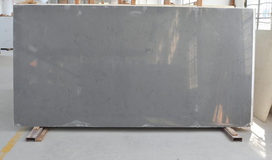 Quartz Slabs Grey Artificial Stone Slabs for Countertops