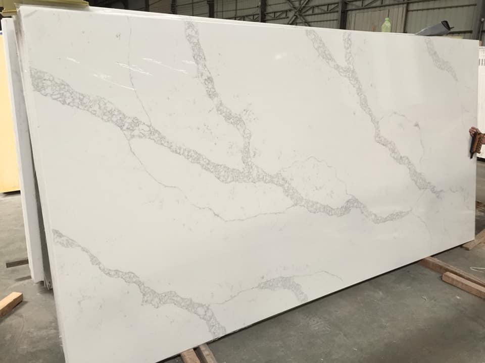 Quartz Slabs White Artificial Stone Slabs