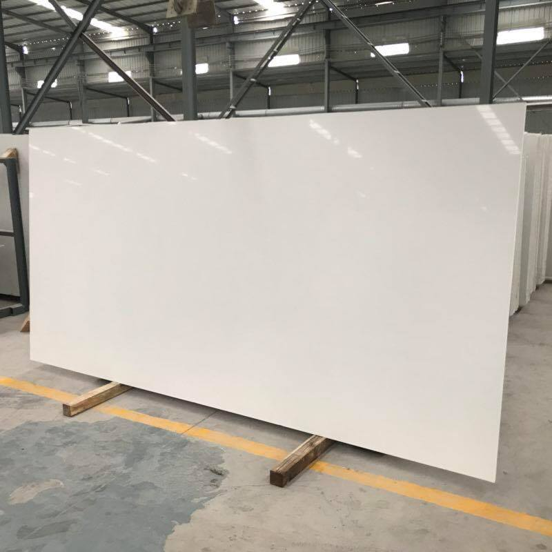 Quartz White Slabs Artificial Stone Polished Slabs