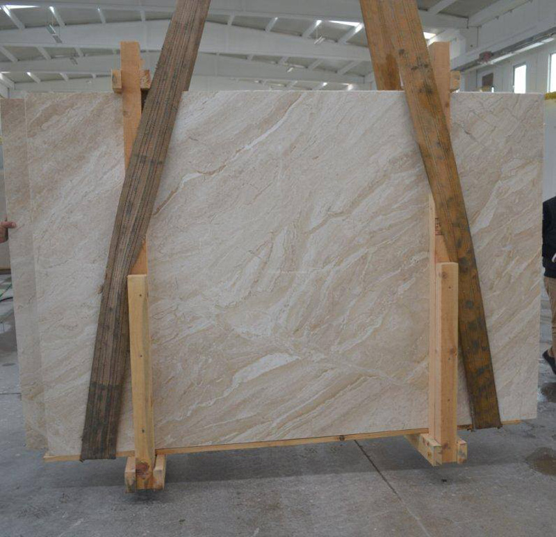 Queen Beige Marble Slabs with High Quality