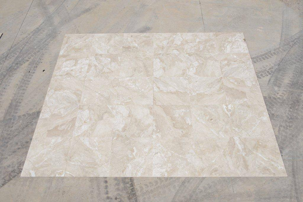 Queen Beige Marble Tiles for Flooring