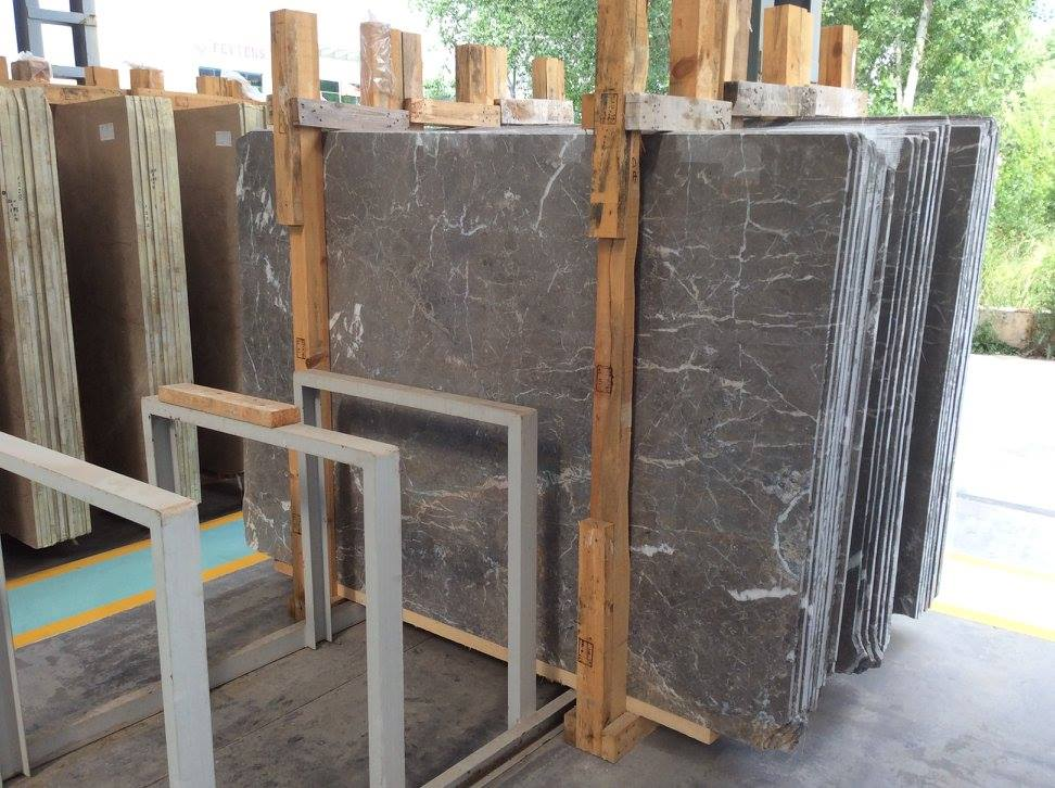 Queen Grey Marble Slabs Turkish Grey Marble Slabs