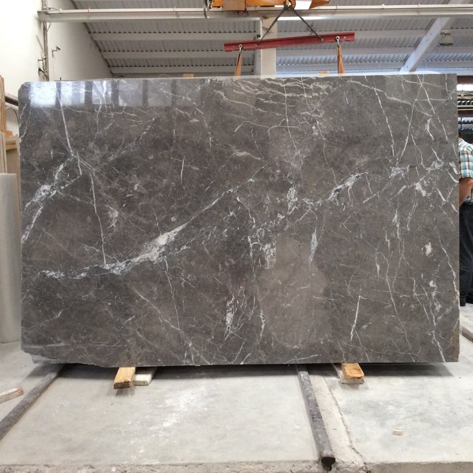 Queen Grey Polished Grey Marble Slabs