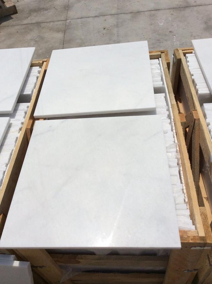 Queen White Polished Marble Tiles for Flooring