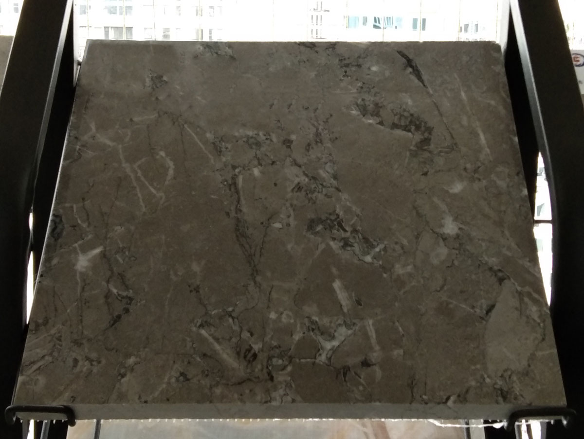Quintessence Wolf Cloudy Grey Small Flower Marble Tiles from China Supplier