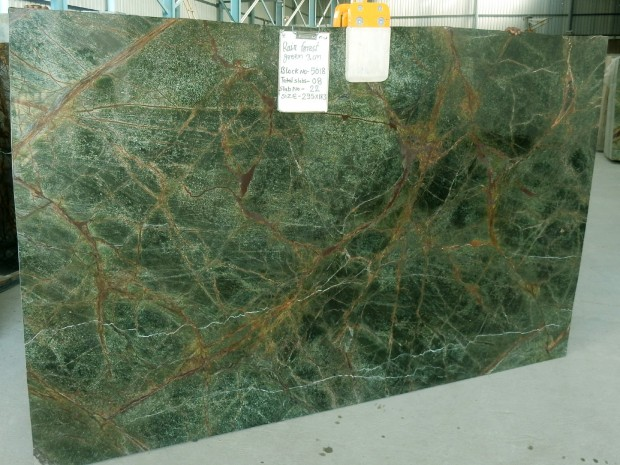 Rain Forest Green Marble : India marble slab