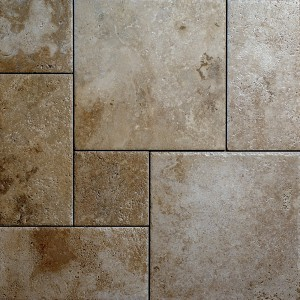 RUSTIC CLOUDY TRAVERTINE TILES