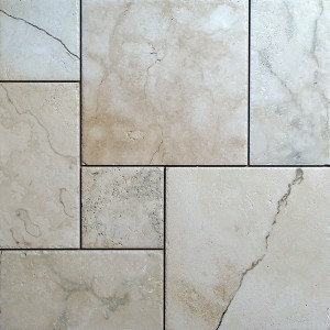 RUSTIC IVORY TRAVERTINE Floor TILES