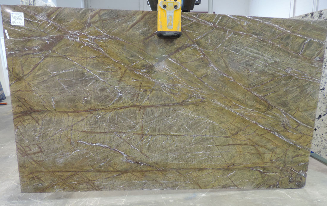 Rain Forest Brown Marble Indian Brown Marble Stone Slabs