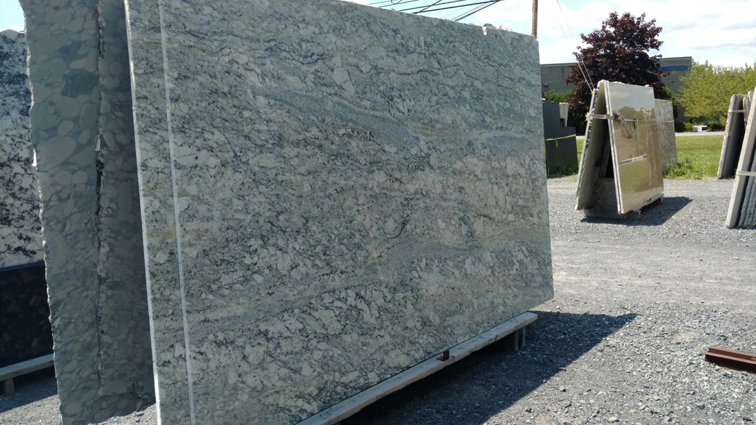 Rainbow Bordeaux Polished Granite Slabs