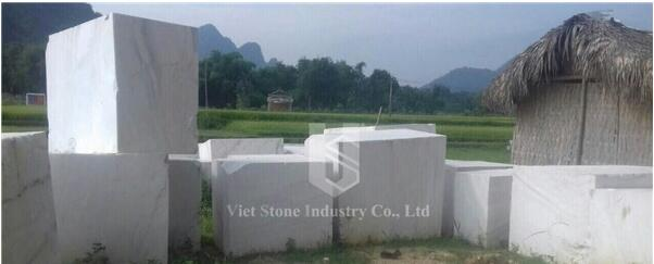 Rainbow Jade Marble Blocks Vietnam White Marble Blocks