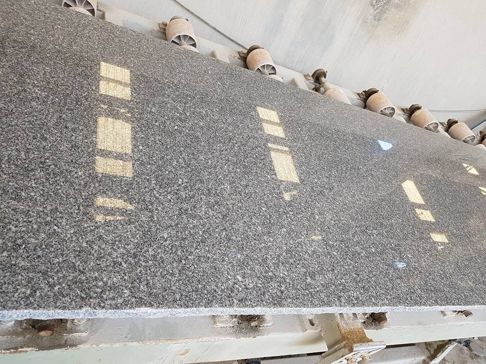Ramady Grey Polished Granite Slab