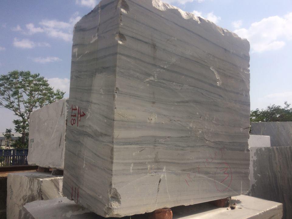 Raymond White Blocks Indian White Marble Blocks