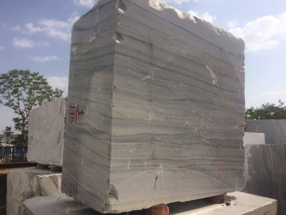 Raymond White Blocks Indian White Marble Blocks