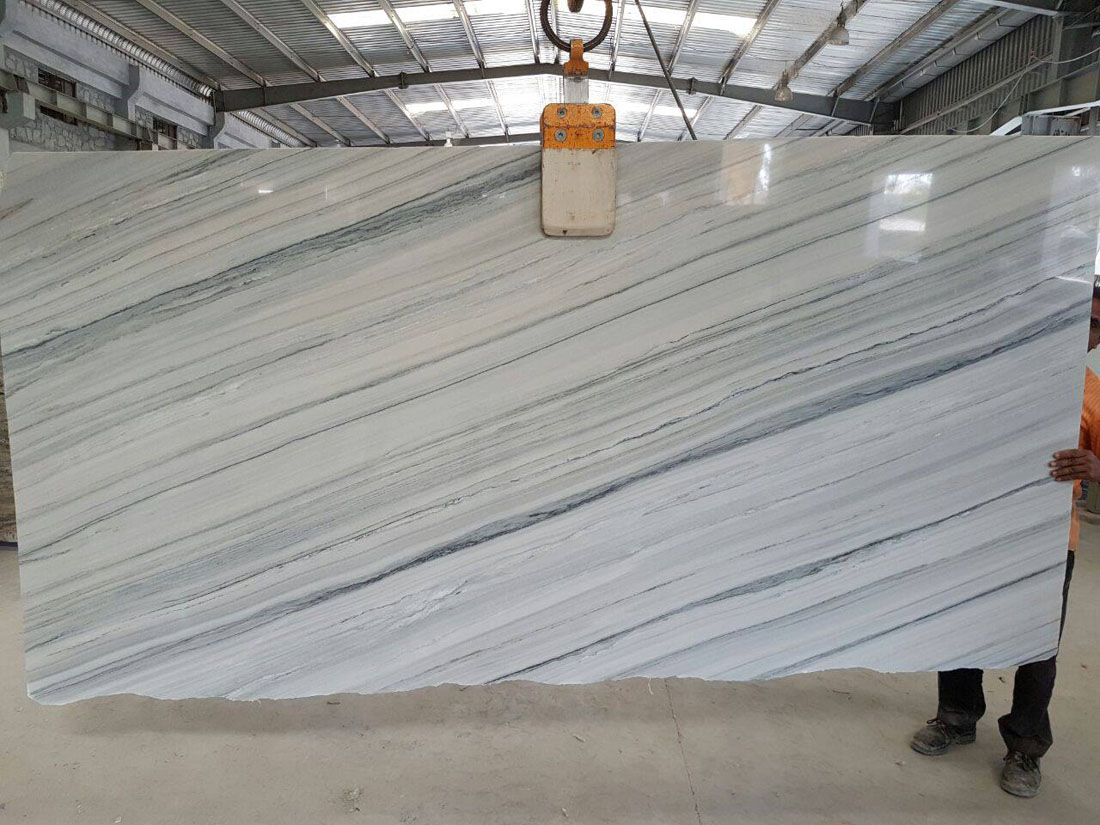 Raymond White Marble Slabs from India