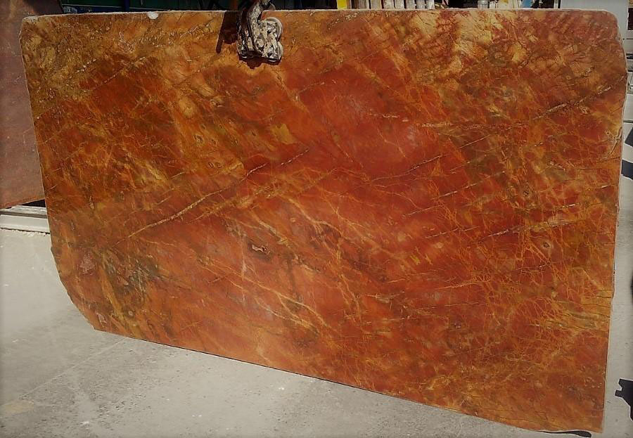 Red Diaspro Marble Slabs for Countertops