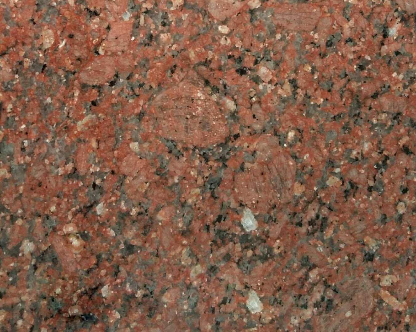Red Granite Colors