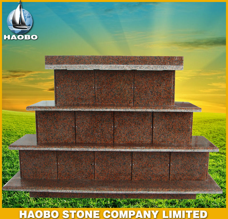 Red Granite Columbarium HBCL006